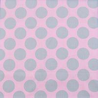 9019/大きなドットと淡いピンク