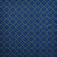 9821/キルト/グリーンドットサークル