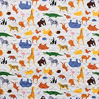 9824/キルト/カラフル動物園