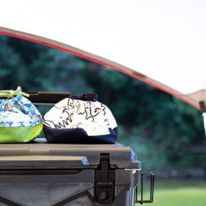 キャンプと弁当袋オーダー
