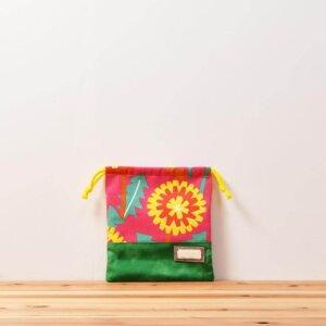 コップ袋(タンポポとピンク、タイダイグリーン)